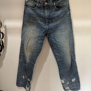 Madewell Rivet & Thread Jeans